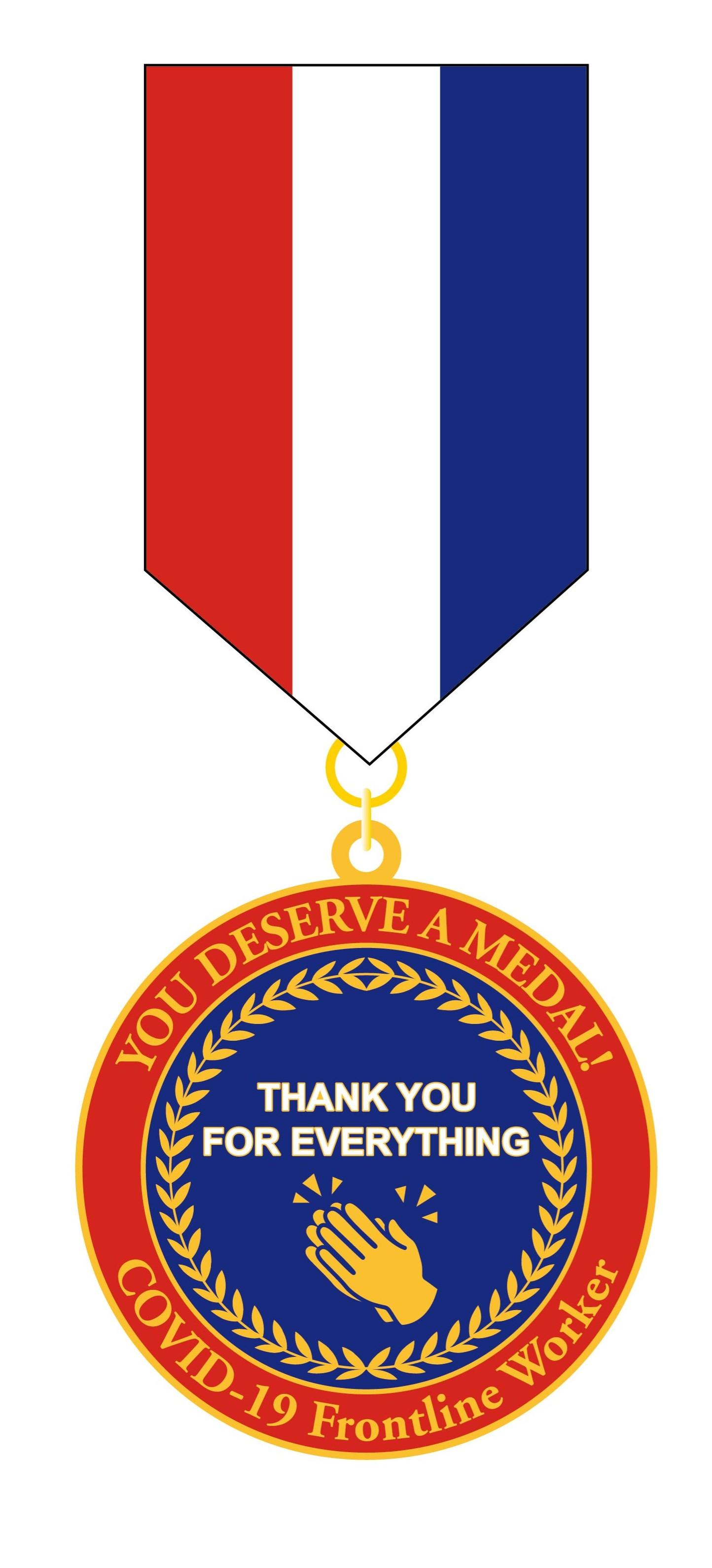 Frontline Worker Covid-19 Medal