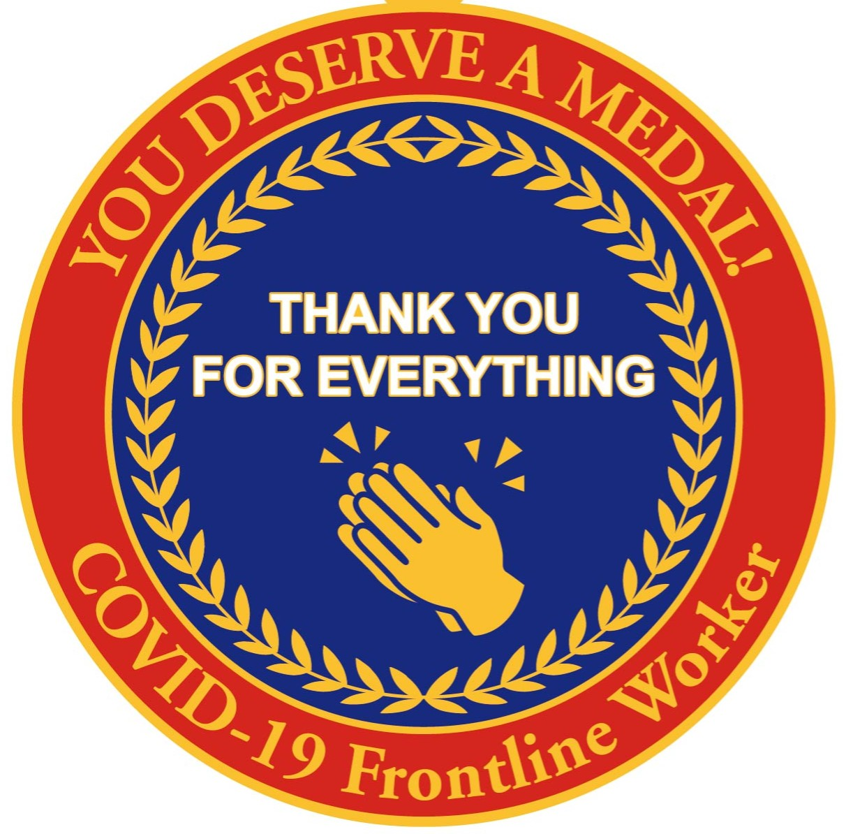 Frontline Worker NHS Thank You Badge